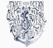 OCEAN IS CALLING One Piece - Short Sleeve
