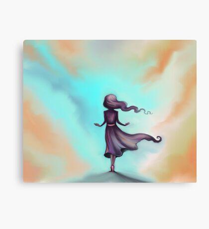 Blue Sky Escape - Dreams Canvas Print