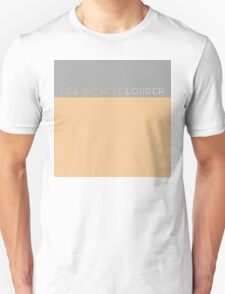 lea michele louder cd T-Shirt
