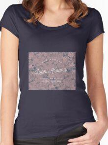 Look Around- Hamilton Women's Fitted Scoop T-Shirt