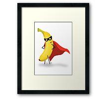 super banana Framed Print