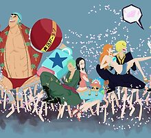 One Piece Parade by Kinderlinsbutt