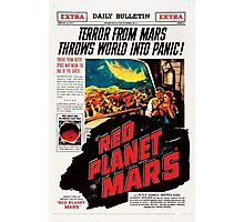 Red Planet Mars! Photographic Print