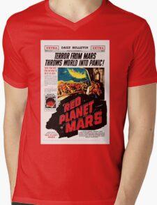 Red Planet Mars! Mens V-Neck T-Shirt