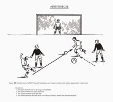 Abseitsregel Offside Rule  by burtward