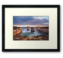Loch Ard Gorge - Port Campbell, Victoria, Australia, Sunset Framed Print