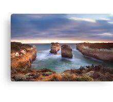 Loch Ard Gorge - Port Campbell, Victoria, Australia, Sunset Canvas Print