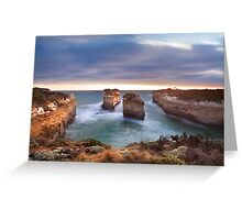 Loch Ard Gorge - Port Campbell, Victoria, Australia, Sunset Greeting Card