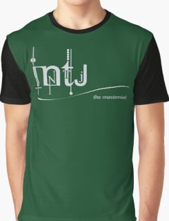 INTJ - The Mastermind/ MBTI Logo Graphic T-Shirt