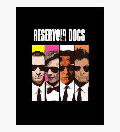Reservoir Docs Photographic Print