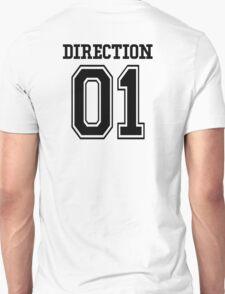 One Direction Fan Jersey (Black) Unisex T-Shirt