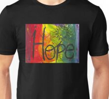 A Rainbow of Hope Unisex T-Shirt