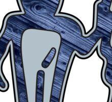 MedMan Blue Grain Sticker