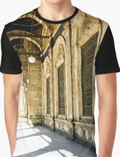 Pillars and Walls Graphic T-Shirt