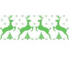 Police Christmas Sweater Sticker