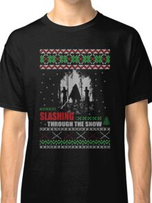 The Walking Dead - Michonne Ugly Christmas Sweater! Classic T-Shirt