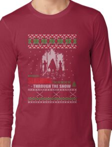 The Walking Dead - Michonne Ugly Christmas Sweater! Long Sleeve T-Shirt
