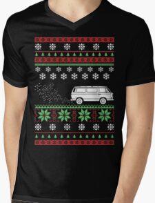 Vanagon Ugly Sweater Mens V-Neck T-Shirt