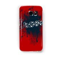 Braves Splatter Samsung Galaxy Case/Skin
