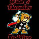 God of Thunder Buddies by Dumpsterwear