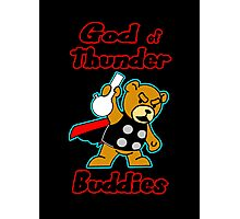 God of Thunder Buddies Photographic Print