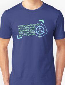 Contact Information Unisex T-Shirt