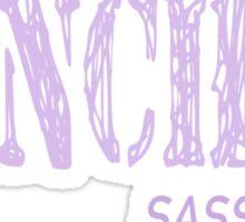 Danchou Sass Me! Sticker