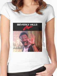 Beverly Hills Cop - Axel Foley A-OK  Women's Fitted Scoop T-Shirt