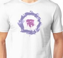 Purple Paint Bullseye Unisex T-Shirt