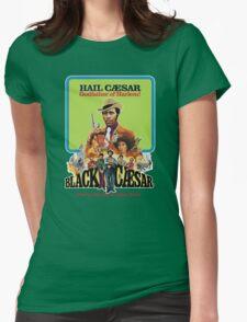 Black Caesar Womens Fitted T-Shirt