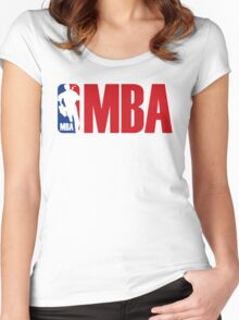 mba Women's Fitted Scoop T-Shirt
