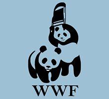 wwf panda wrestling Unisex T-Shirt