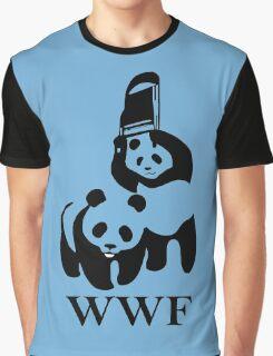 wwf panda wrestling Graphic T-Shirt