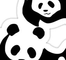 wwf panda wrestling Sticker