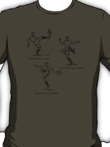 Stoppen des Balls Stopping the Ball T-Shirt