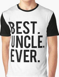 Best Uncle Graphic T-Shirt