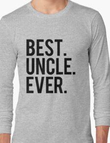 Best Uncle Long Sleeve T-Shirt