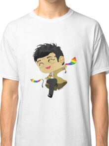 Castiel, Angel of the Lord, and his GAY PRIDE ties Classic T-Shirt