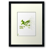 Free Gamer Framed Print