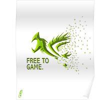 Free Gamer Poster