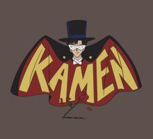 Retro Tuxedo Kamen Logo by JollyNihilist