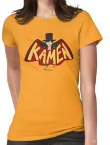 Retro Tuxedo Kamen Logo Womens Fitted T-Shirt