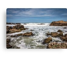 Saltwater Foam Canvas Print