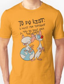 Pinky And The Brain - Take Over The World T-Shirt