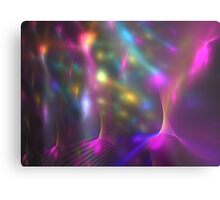 Pink Lights Metal Print