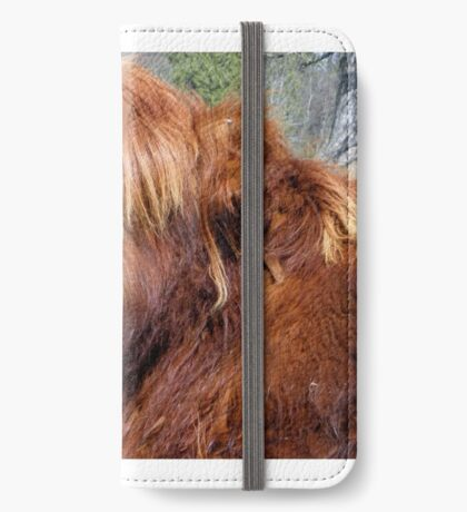 Wee Hieland coo beastie iPhone Wallet/Case/Skin