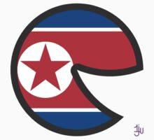 North Korea Smile One Piece - Short Sleeve