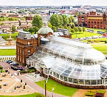 People's Palace and Winter Gardens  by adelemcvay