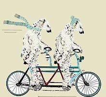 polar bears days let tandem by bri-b