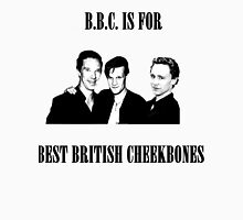 BEST BRITISH CHEEKBONES 1.2 Womens Fitted T-Shirt